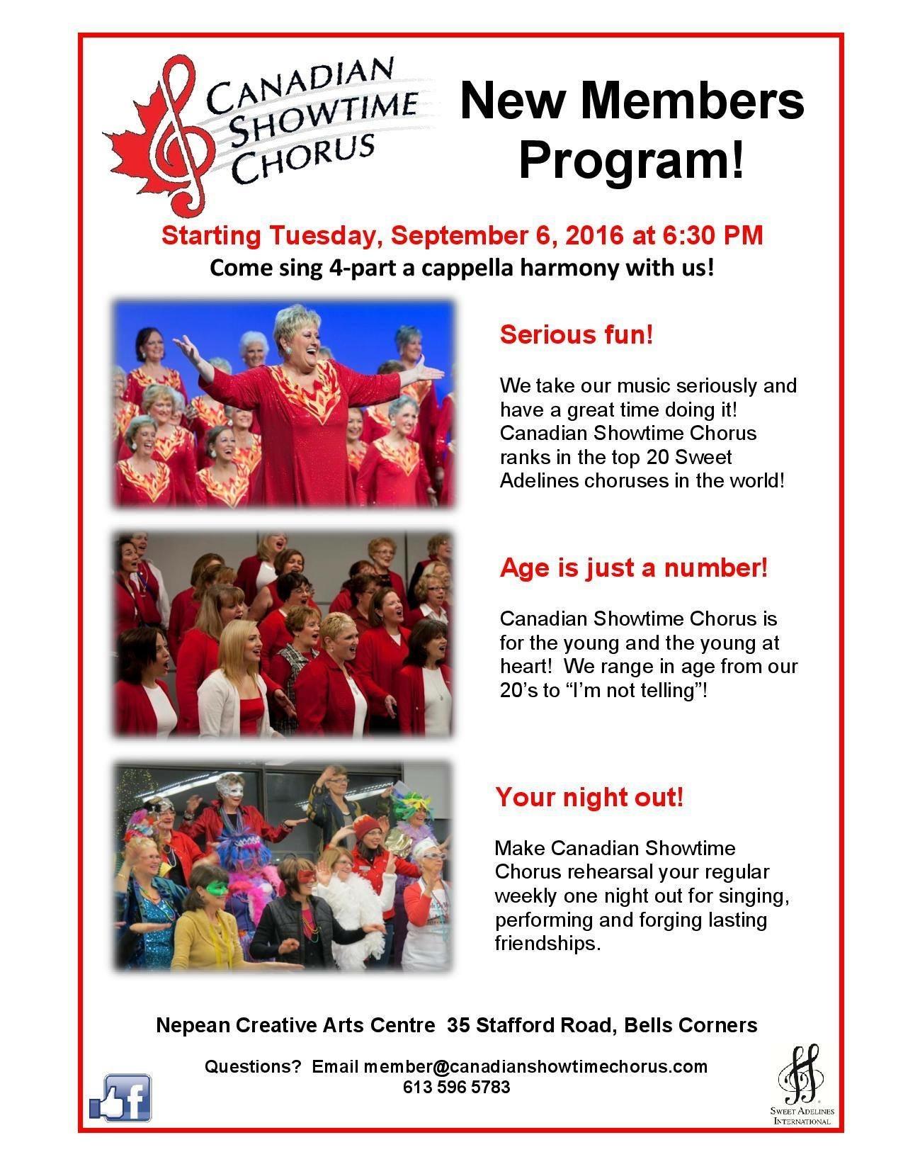 New Members Program